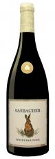 2016 Sasbacher Rote Halde Spätburgunder QbA -trocken- Jäger-Wein mit Hasenmotiv 0.75 l WG Sasbach