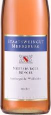2015 Meersburger Bengel SPÄTBURGUNDER WEISSHERBST QbA -trocken- 0.75 l Stwgt. Meersburg