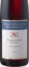 2018 Meersburger Bengel SPÄTBURGUNDER ROTWEIN QbA -trocken- 0.75 l Stwgt. Meersburg