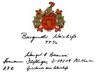 Burgunder Weinhefe 44% Vol. 0,7 ltr