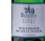 2016 WEISSER BURGUNDER Winzersekt -trocken- 0.75 l WG Britzingen