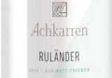 2018 Achkarrer RULÄNDER Kabinett -trocken- 1,0 l WG Achkarren